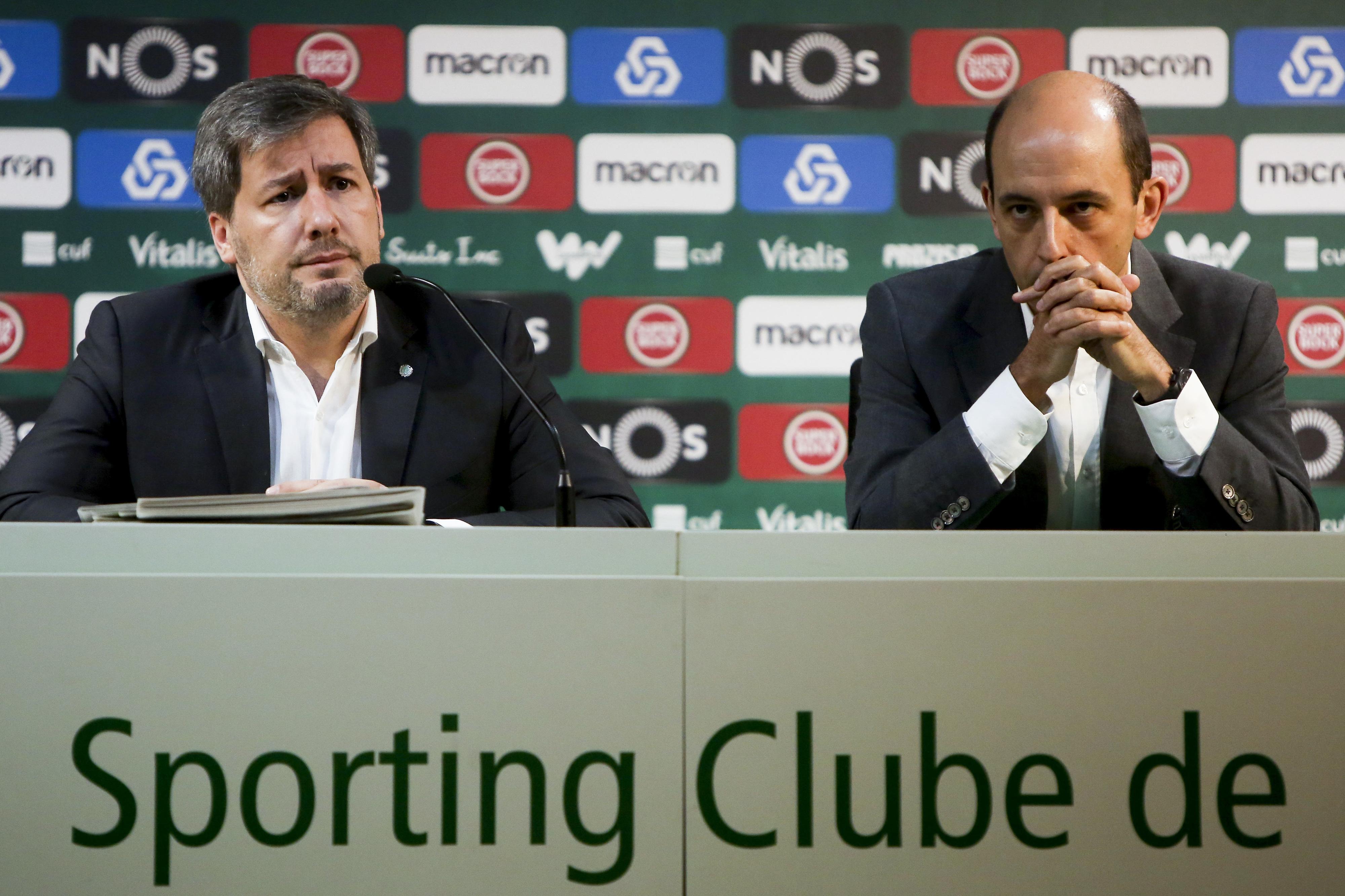 Carlos Vieira confirma redução de custos com o pessoal no Sporting