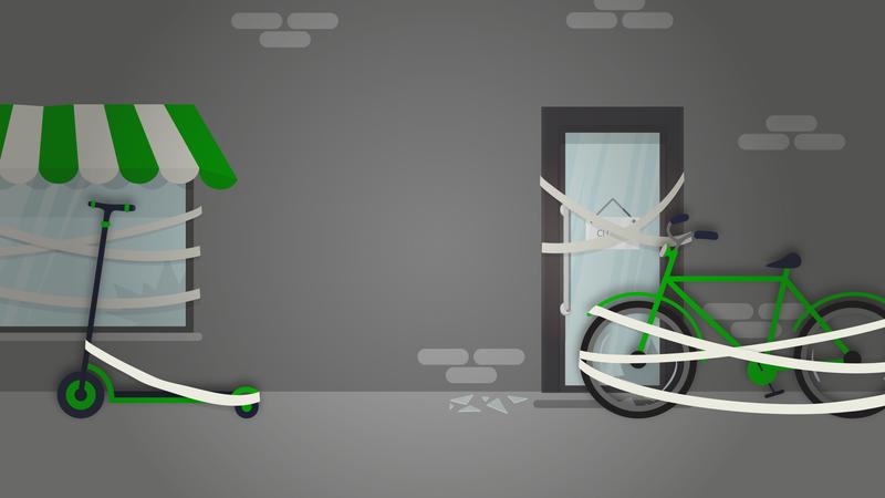 Coronavírus arrasta negócio da mobilidade para as ruas da amargura