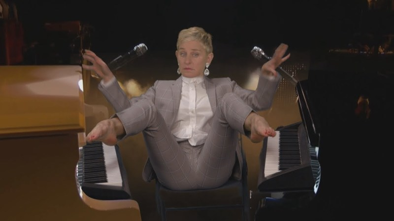 Paródia: Ellen DeGeneres revela o seu talento secreto