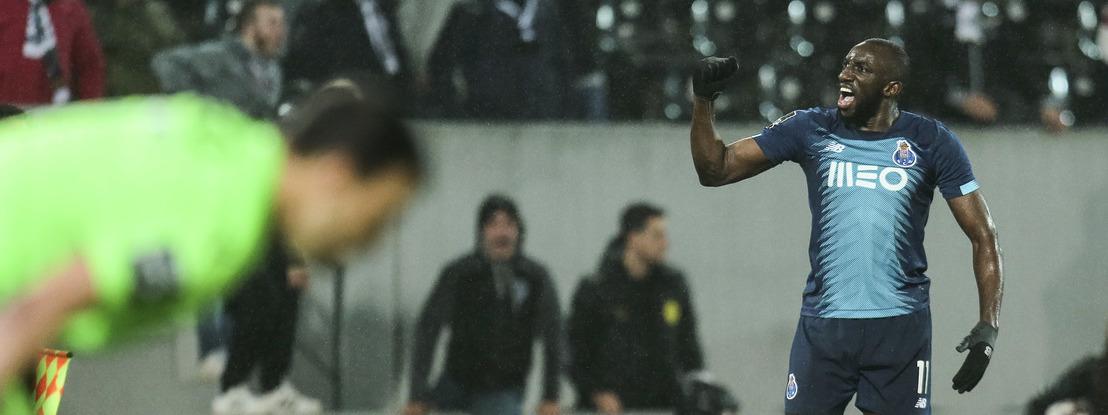 FC Porto vence em Guimarães e fica a um ponto da liderança