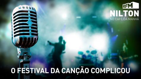 O festival da canção complicou