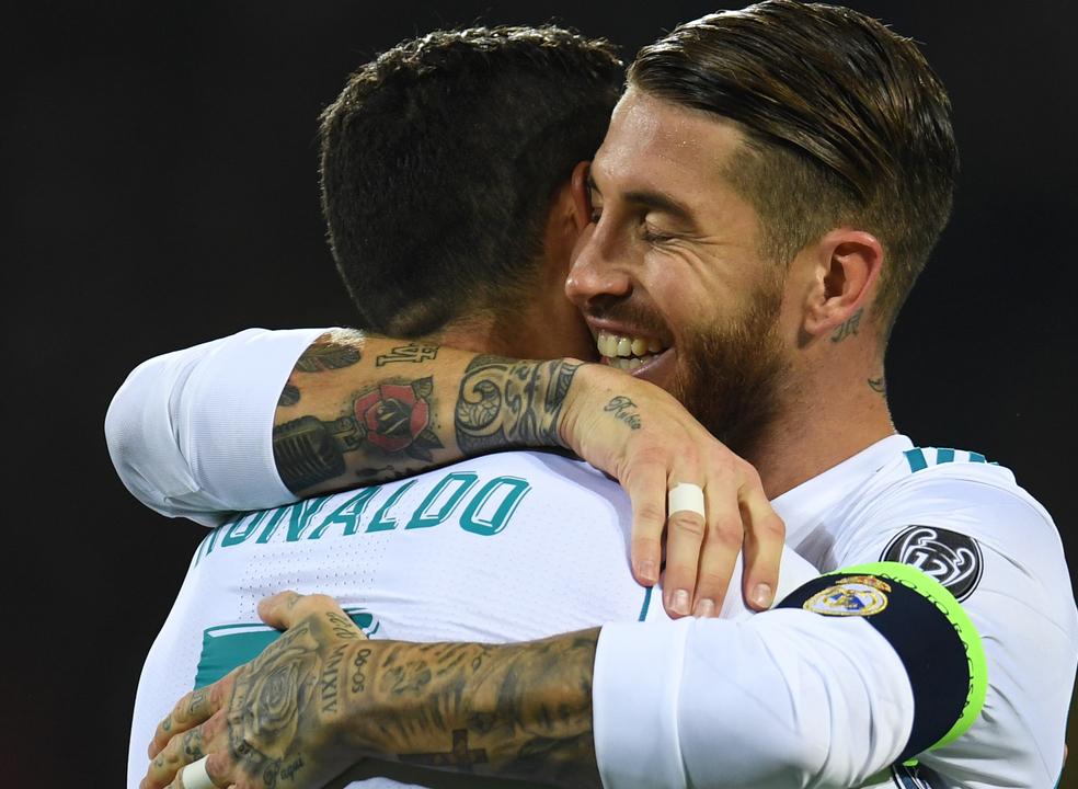 """Sergio Ramos sobre Ronaldo: """"O Real Madrid não deixará de ganhar por não contar com ele"""""""