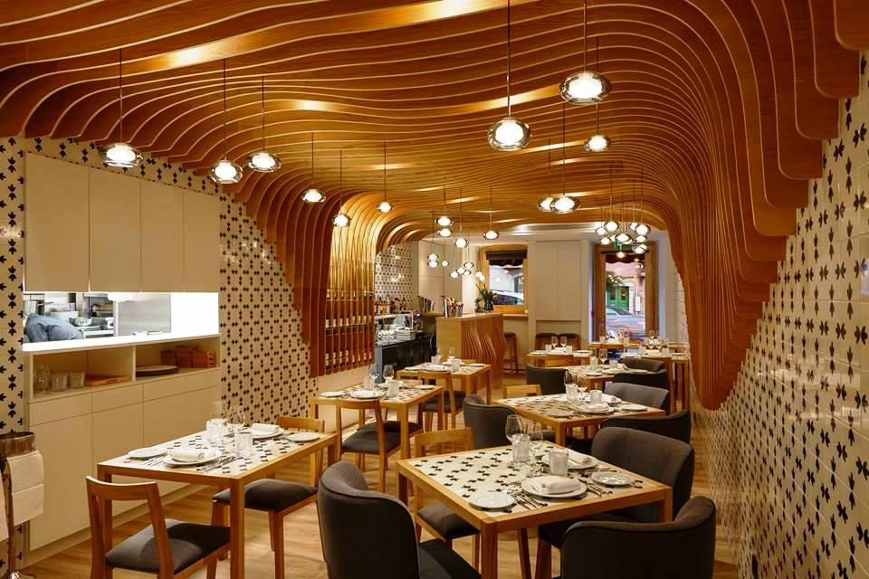 """""""À Justa"""" mas com muita largueza de mesa o novo restaurante da chefe Nobre"""