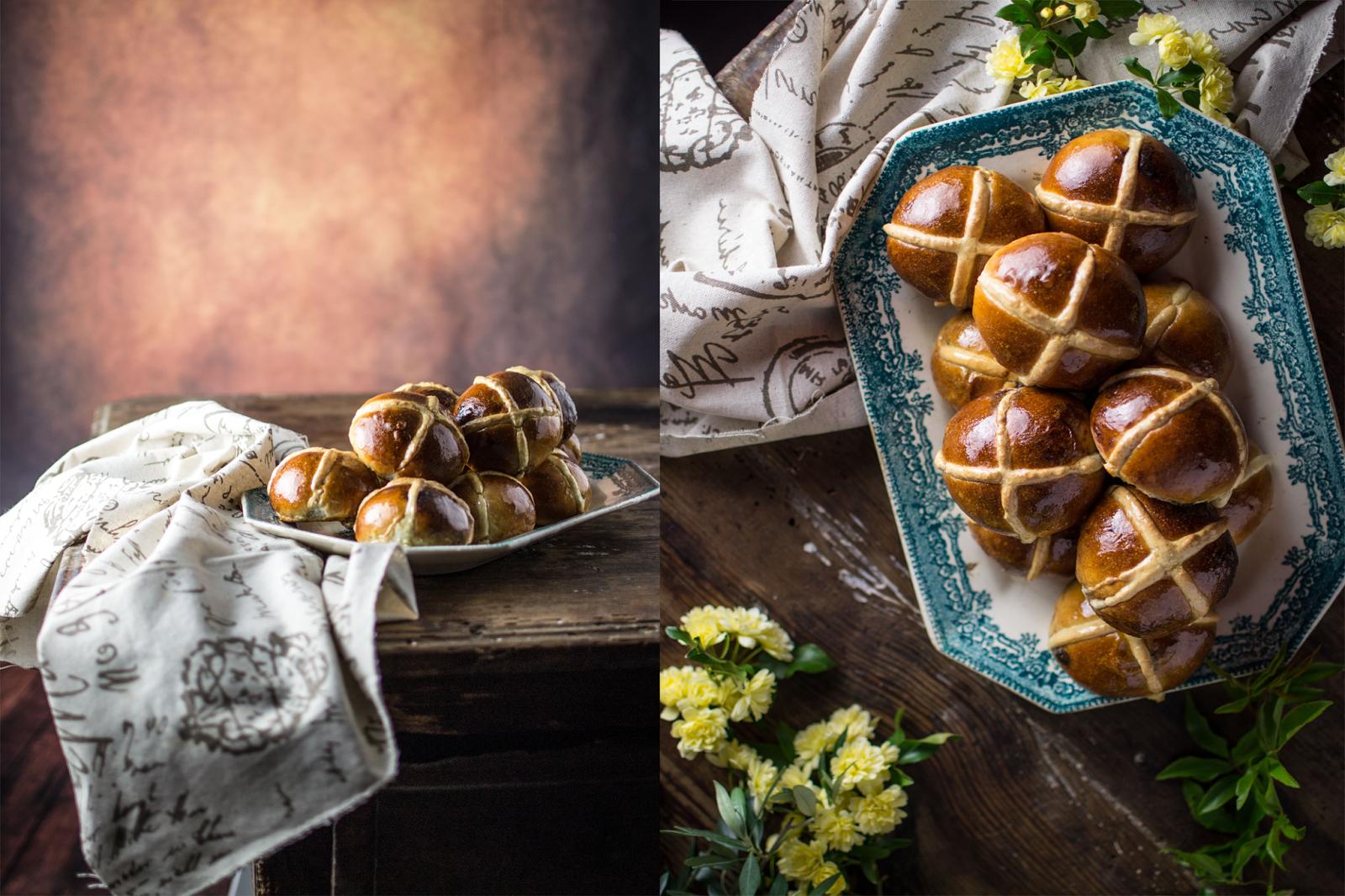 Hot cross buns - Pãezinhos da Páscoa