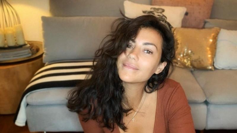 Sofia Ribeiro revela com este vídeo que se tornou fã de yoga