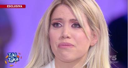 """Mulher e empresária de Icardi chora em programa de televisão e garante: """"Queremos ficar no Inter"""""""