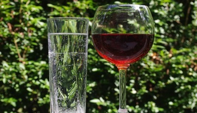 A água mete o bedelho entre os vinhos e o palato agradece