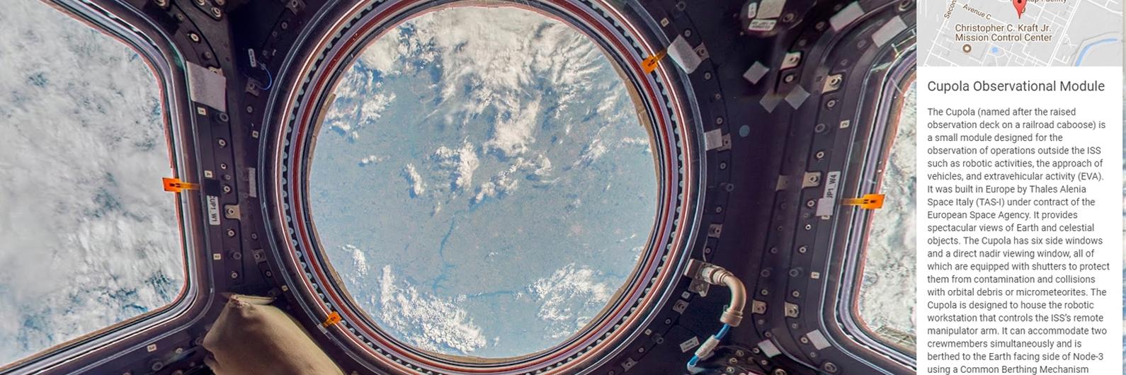 Quer passear na Estação Espacial Internacional? O Google deixa