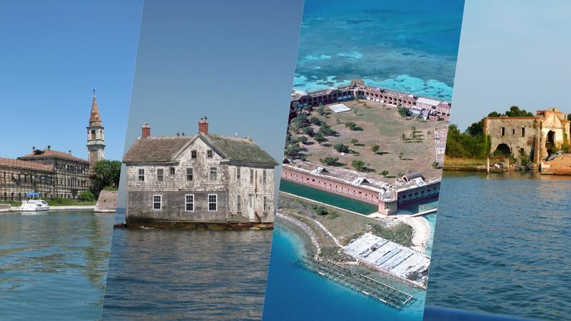 17 ilhas abandonadas ao redor do mundo e as suas histórias misteriosas