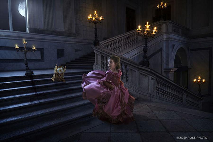 Pai cria ensaio fotográfico para a filha inspirado em