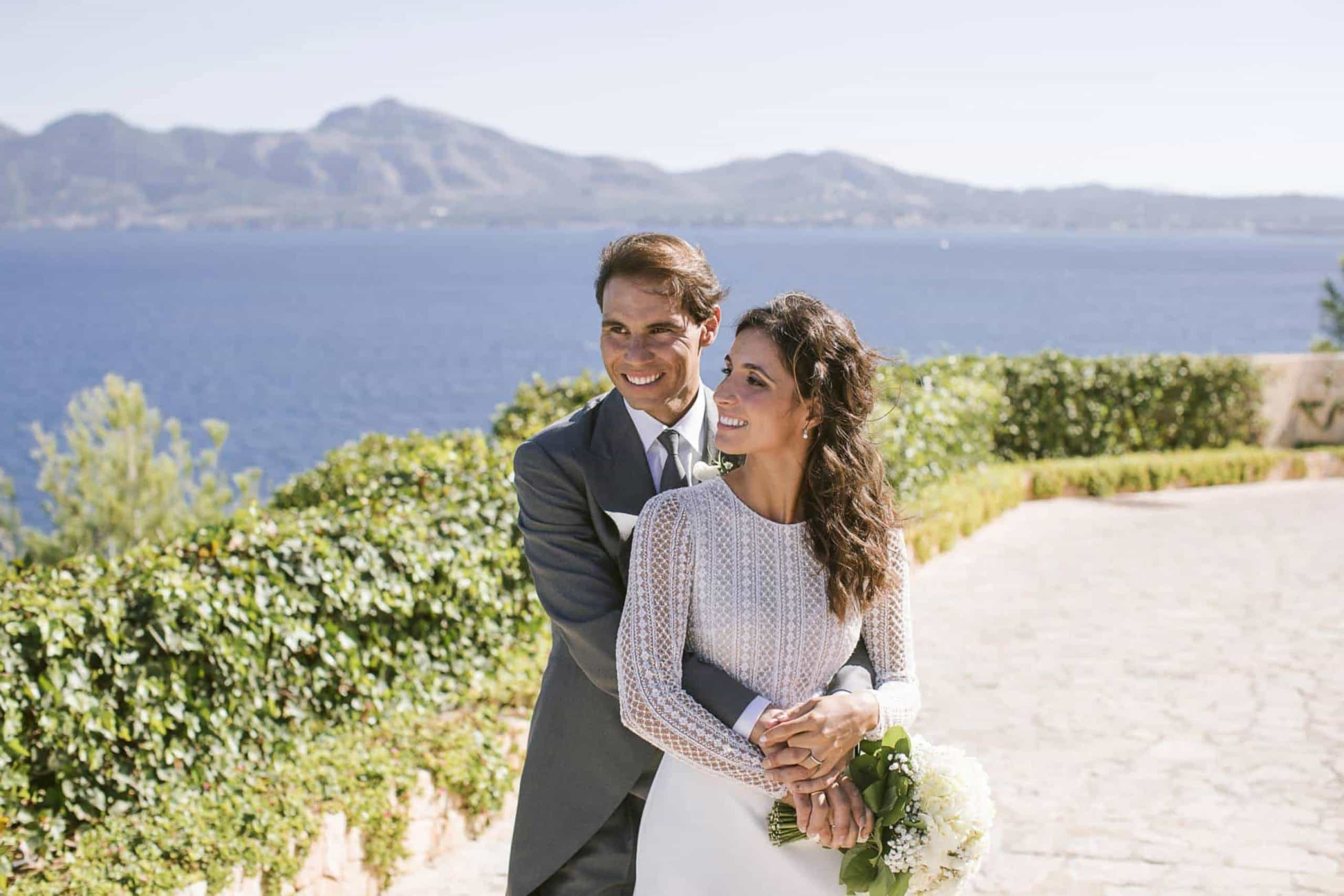 Rafael Nadal casou-se. As fotos dos noivos e as exigências no grande dia