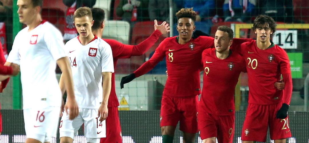 Portugal com um 'pé e meio' no Europeu de sub-21
