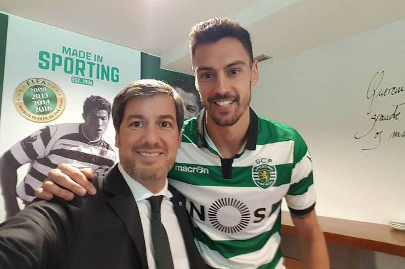 André Pinto já é 'leão'