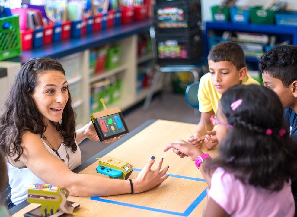 """Nintendo """"inscreve"""" Labo nas escolas norte-americanas"""