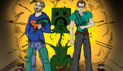 YOGSCAST Lewis & Simon são os gamers mais divertidos no mundo Minecraft