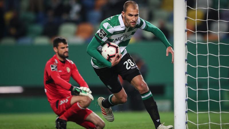 Sporting 5-2 Nacional: Leão entrou a dormir mas acordou a tempo de meter a 6.ª na era Keizer