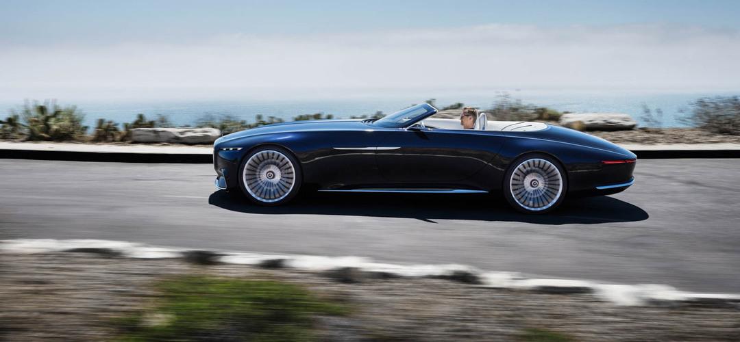 O fabuloso Vision Mercedes Maybach 6 cabriolet