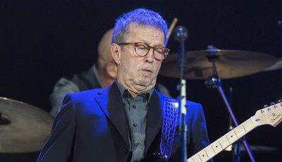 Eric Clapton colabora no novo álbum dos Rolling Stones