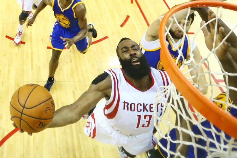 Rockets estão nas meias-finais da Conferência Oeste