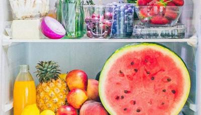 O que guarda uma personal trainer de celebridades no frigorífico?