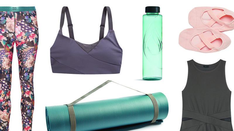 Exercitar o corpo e a mente: 17 peças para a prática de ioga