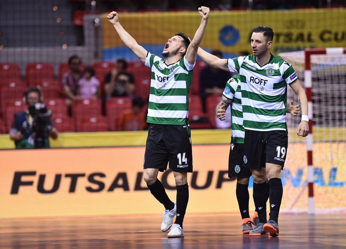 UEFA Futsal Cup: Final entre o Sporting e o Inter Movistar vai ser transmitida no Pavilhão João Rocha