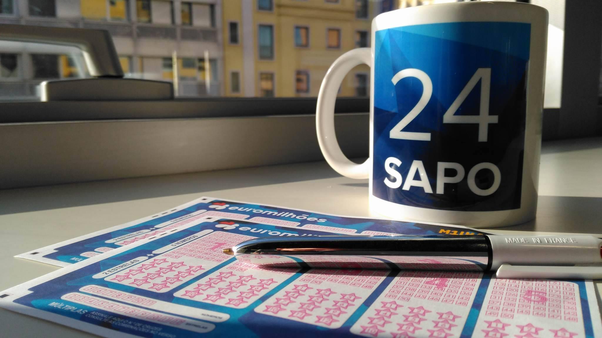 'Jackpot' de 81 milhões de euros no sorteio de terça-feira do Euromilhões