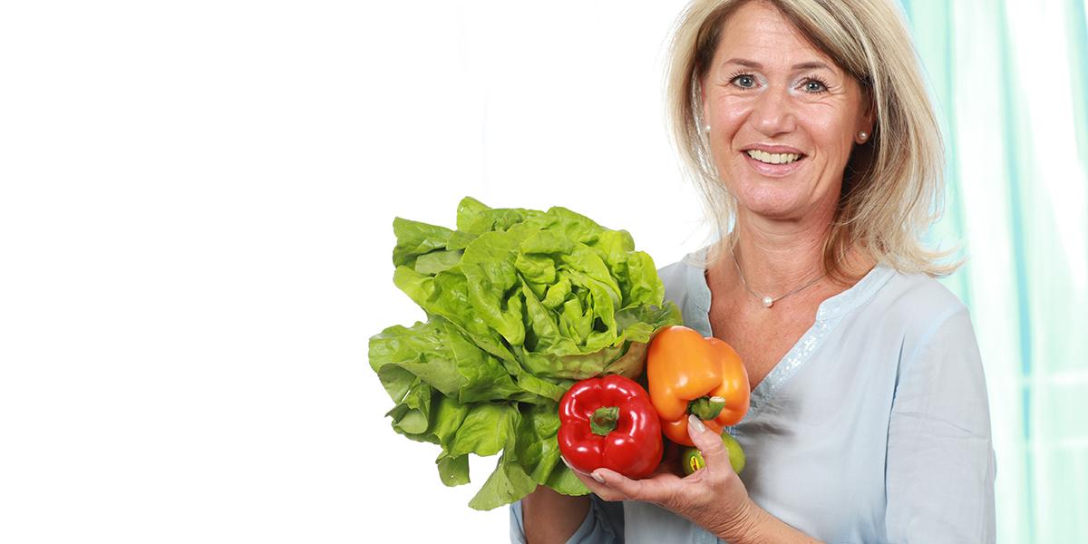 Dieta para mulheres em processo de menopausa