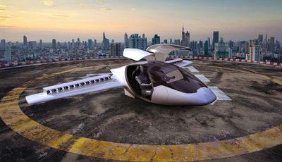 Não é um pássaro nem um avião: é um carro voador
