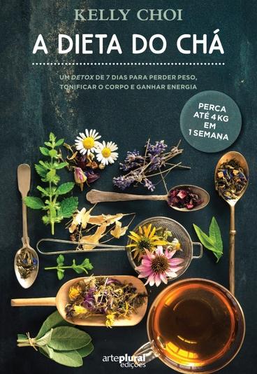 """Ganhe o livro """"A Dieta do Chá"""", um plano detox para perder peso"""