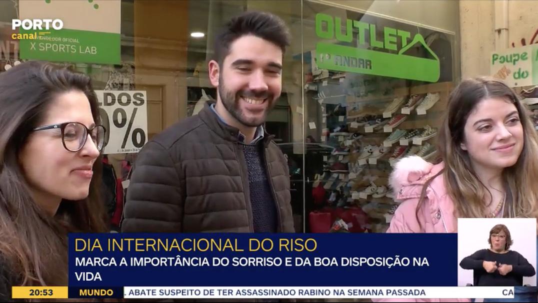 O que faz os portugueses sorrir?