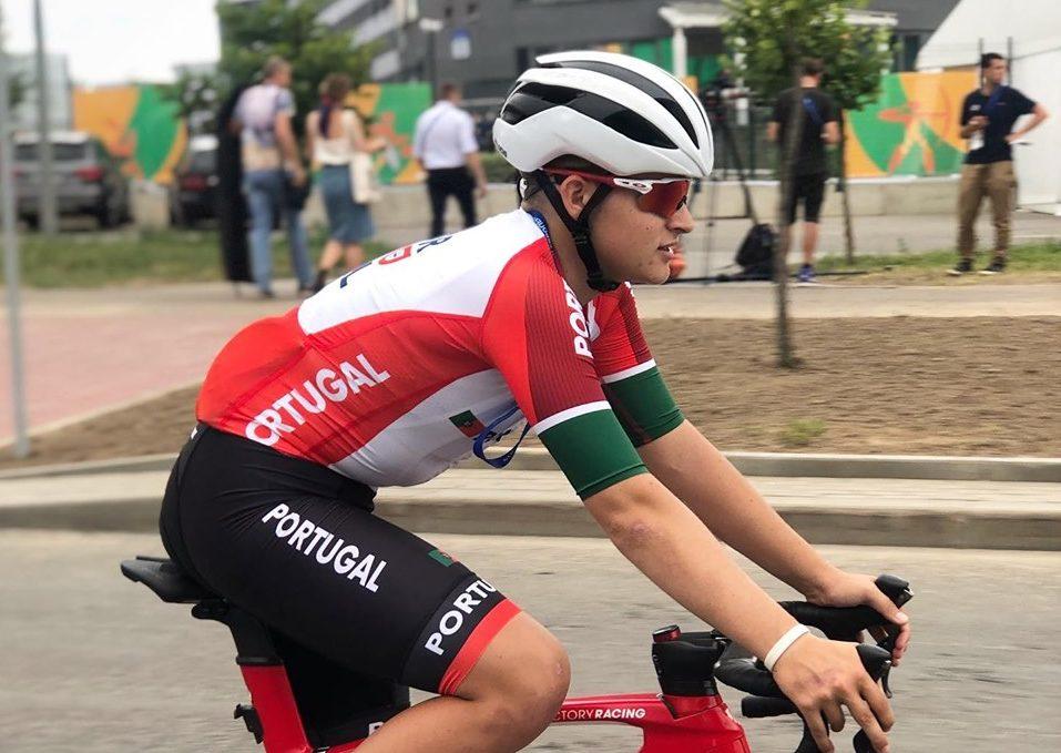 Maria Martins e Ivo Oliveira conquistam bronze em ciclismo de pista em Sangalhos