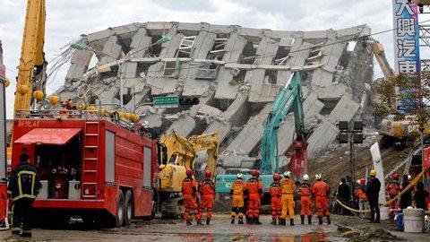 Taiwan. Número de mortos sobe para 55