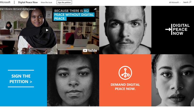 Não existe paz sem uma paz digital. E há uma petição que defende isso mesmo