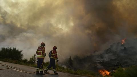 Fogo na serra de Grândola já foi dominado