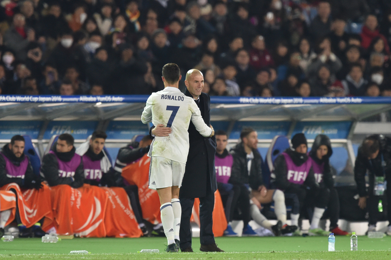 """Zidane: """"Não sei se os assobios a Cristiano Ronaldo são justos ou não"""""""