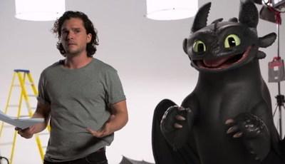 """Kit Harington fez audição para """"A Guerra dos Tronos"""" com... outro dragão"""