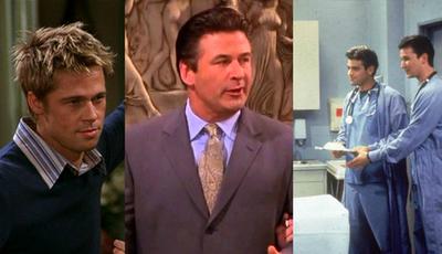 """""""Friends"""" estreou há 24 anos: lembra-se das caras conhecidas que passaram pela série?"""