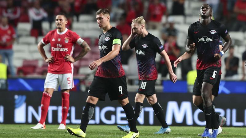 Benfica 1-2 Leipzig: Frieza alemã castigou desperdício encarnado