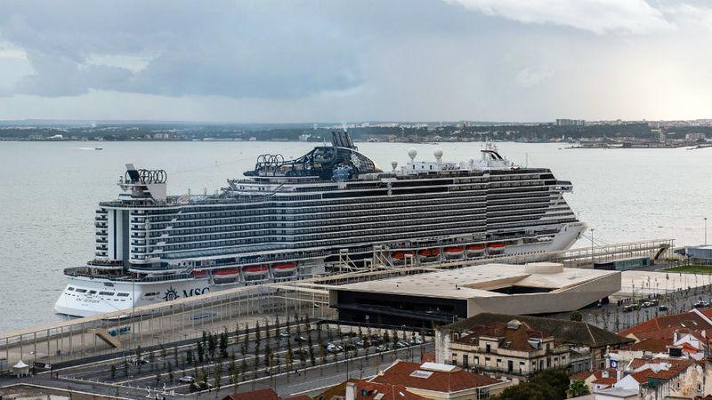 Turistas de cruzeiro no porto de Lisboa desceram 5% no primeiro trimestre