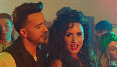 """Demi Lovato e Luis Fonsi: """"Echame La Culpa"""" é a canção latina mais ouvida nos EUA"""