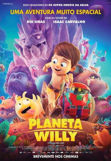 """""""Planeta Willy"""": ganhe convites para as antestreias"""