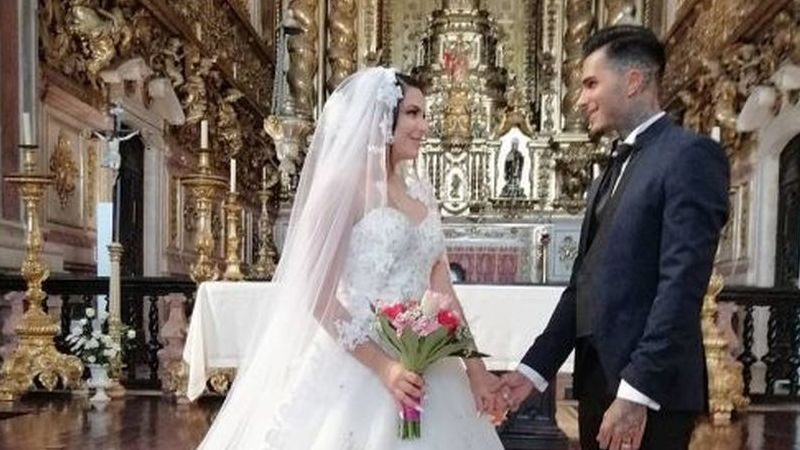 'Love on Top': Eis as primeiras fotos do casamento de Cynthia e Nuno