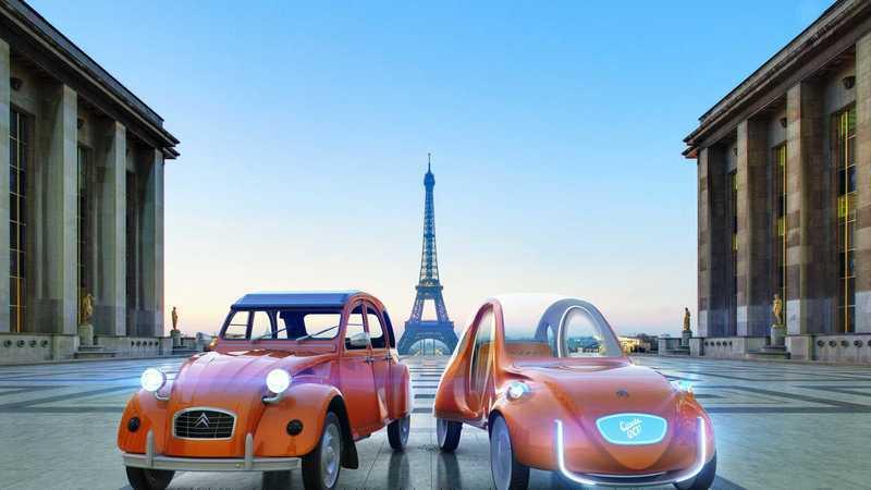 Elétrico e autónomo: Um Citroën 2CV para o futuro