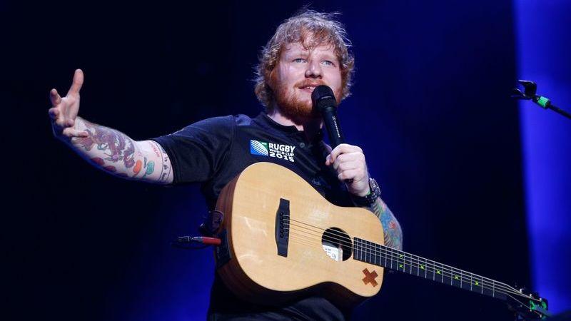 """Ed Sheeran: """"Adorava escrever uma canção para o Festival Eurovisão da Canção"""""""