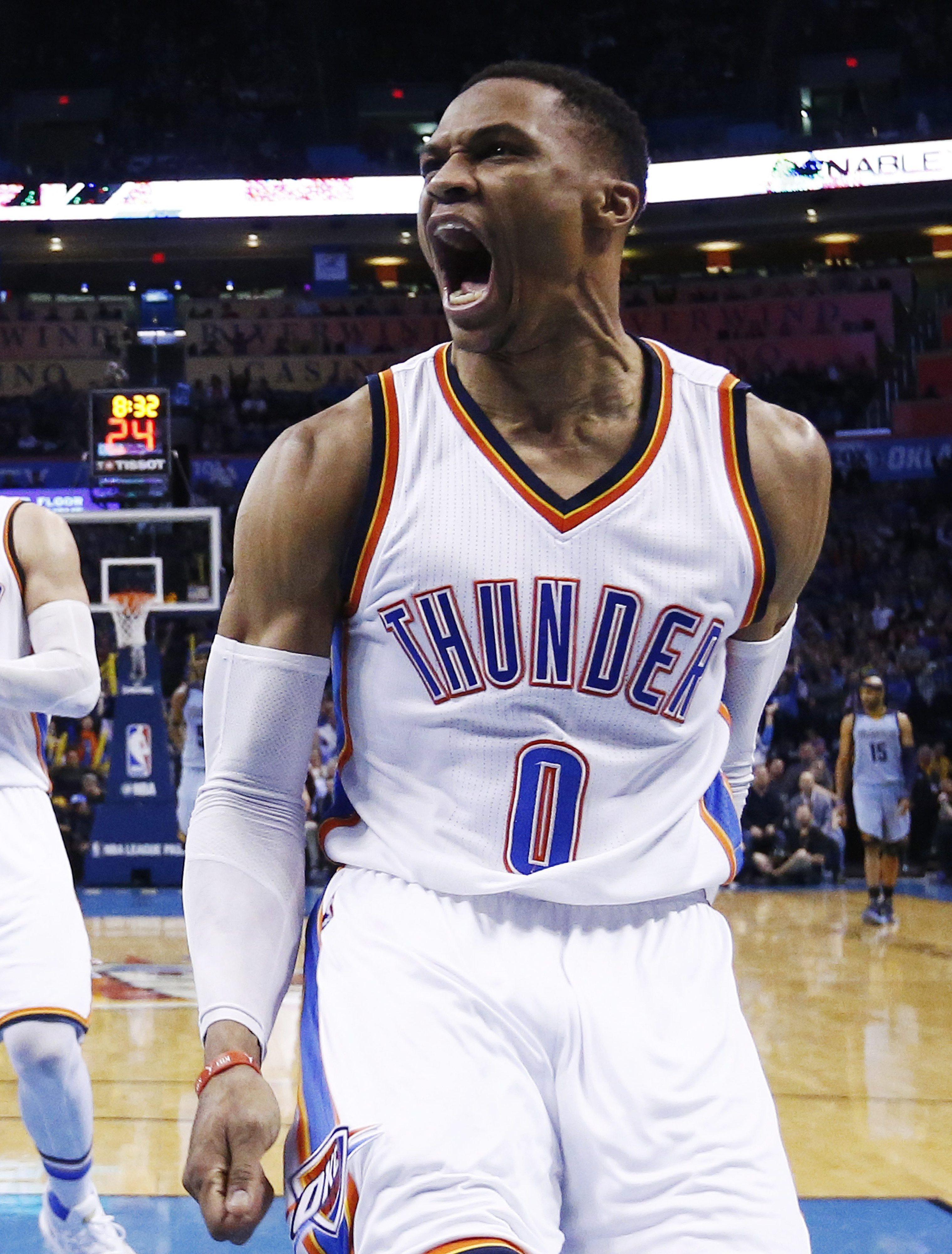 NBA: Westbrook iguala Larry Bird como quinto jogador com mais 'triplos-duplos'