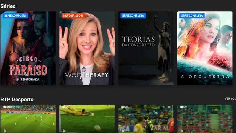 Canal público apresenta app renovada RTP Play de acesso a conteúdos do canal
