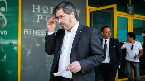 """Sporting: Advogado diz que Bruno de Carvalho """"é o presidente em exercício"""""""