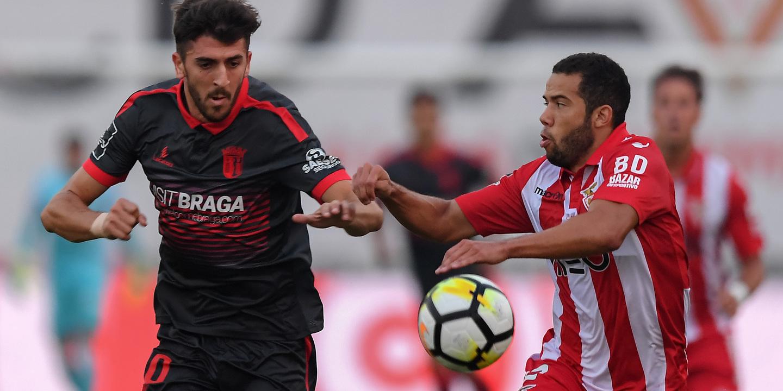 SC Braga vence no terreno do Aves e sobe ao quinto lugar