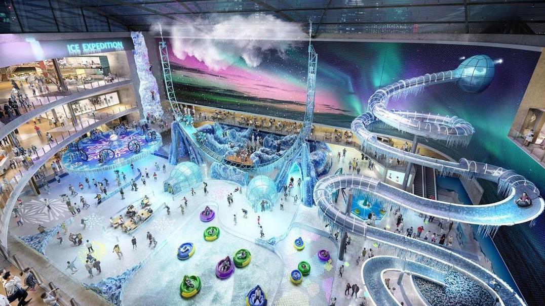 """Dubai Square promete ser o shopping mais """"hightech"""" de sempre"""